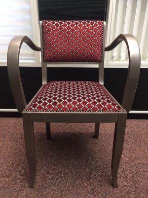 Fauteuil losanges - Tapissier fauteuil, restauration fauteuil proche Strasbourg (67/Bas-Rhin/Alsace)